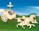 Боевая колесница. Сборная деревянная модель.